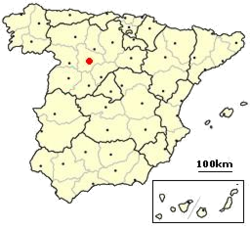Valladolid, Spain location.png