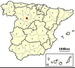 Valladolid, Spain location