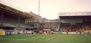 Bradford City stadium fire 1985 disaster in Valley Parade Stadium, Bradford, England