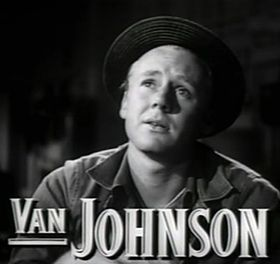 Van Johnson nel trailer del film