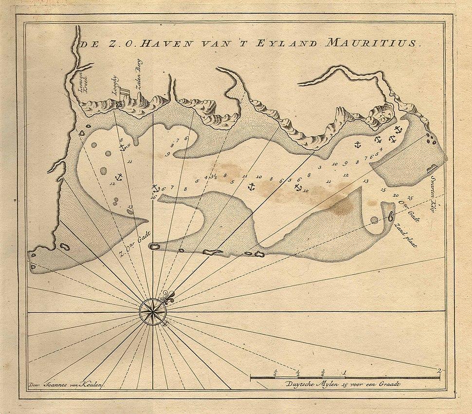 Van Keulen - De Z. O. Haven van %27t Eyland Mauritius