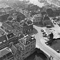 Van af de toren naar het zuid-westen met de uitmondingen van Voorstr. en Prinsenstr. - Dordrecht - 20060086 - RCE.jpg