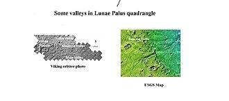 Chryse Planitia - Image: Vedra, Maumee, and Maja valles