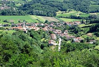 Velike Žablje Place in Littoral, Slovenia