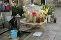 Venice - Fountain, well and flowers.jpg