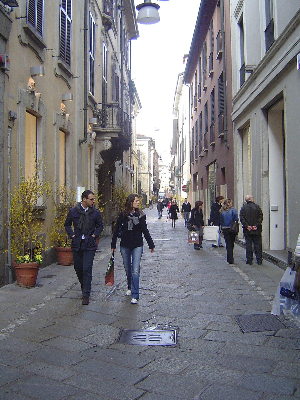Via della Spiga - Wikipedia, la enciclopedia libre