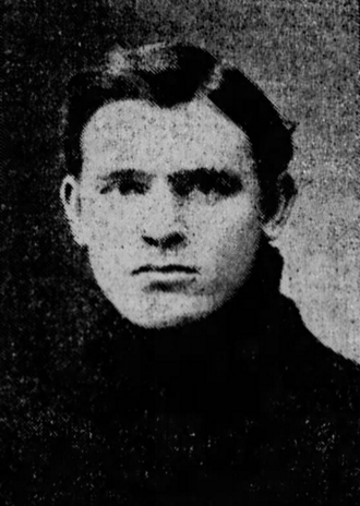 Victor M. Place - Place as Dartmouth captain, 1902