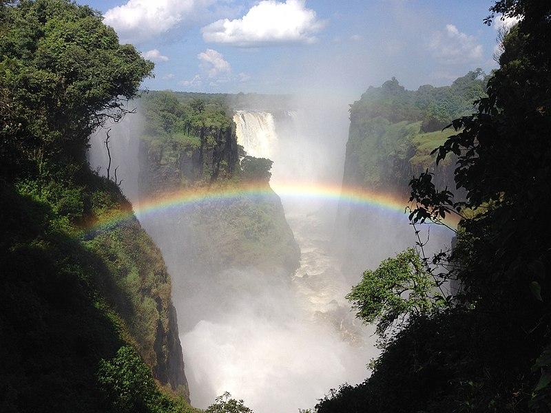 File:Victoria Falls Waterfall-West.jpg