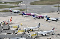 Vienna International Airport from the Air Traffic Control Tower 05.jpg