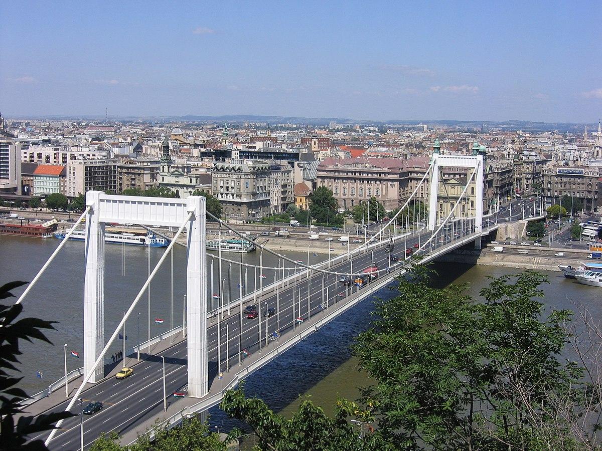 Erzsébet híd (Budapest) – Wikipédia
