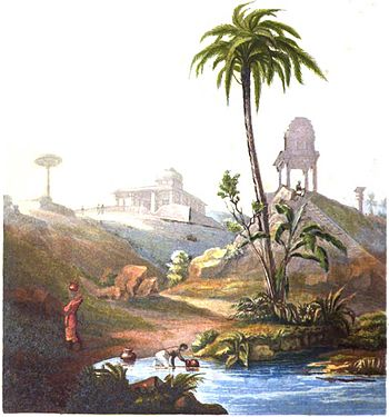 View from the Hepern House, Bangalore (Campbell, 1839).jpg