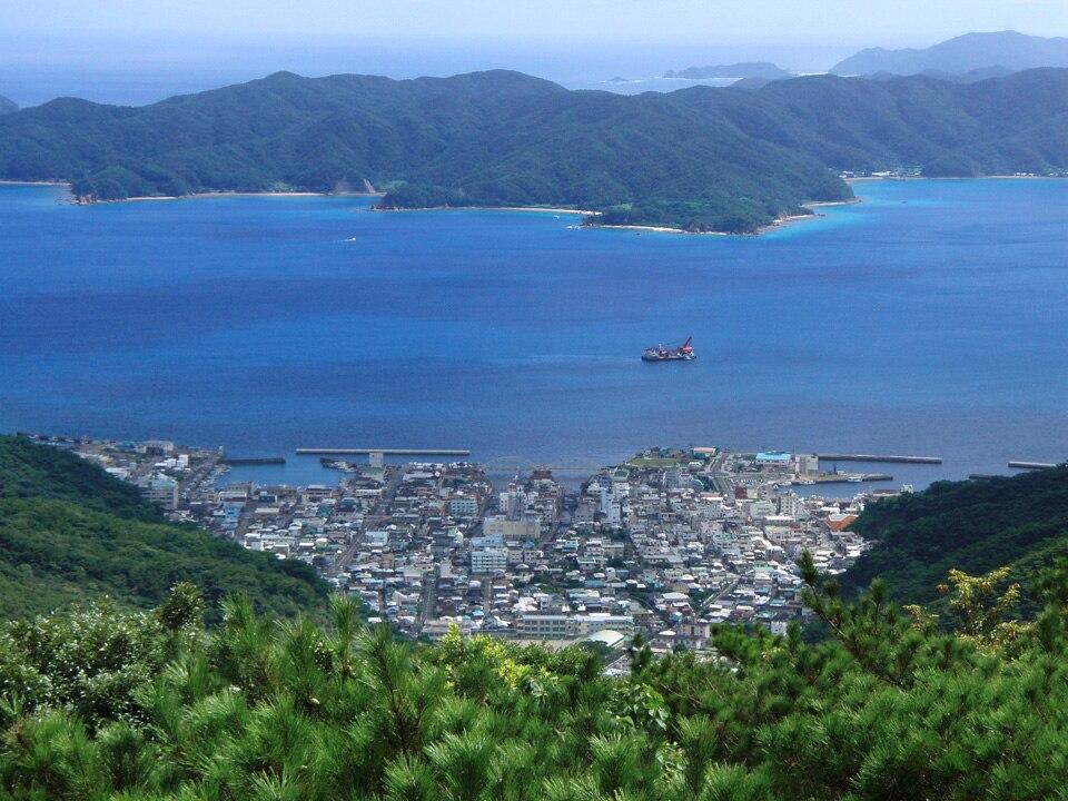 View of Koniya from Kochi-yama