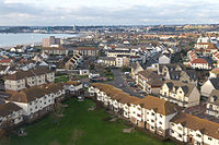 View of housing in St Clement, Jersey.JPG