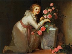 Vigée Le Brun Lady making a bouquet.jpg