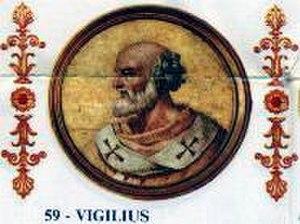 Pope Vigilius - Image: Vigilius