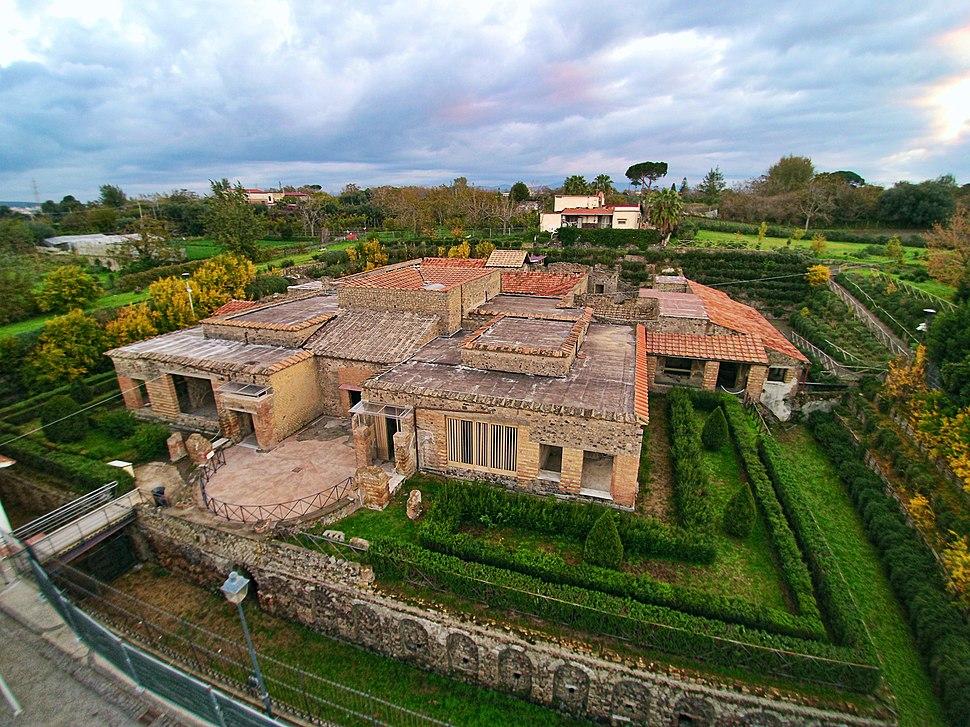 Villa of the Mysteries in Pompeii