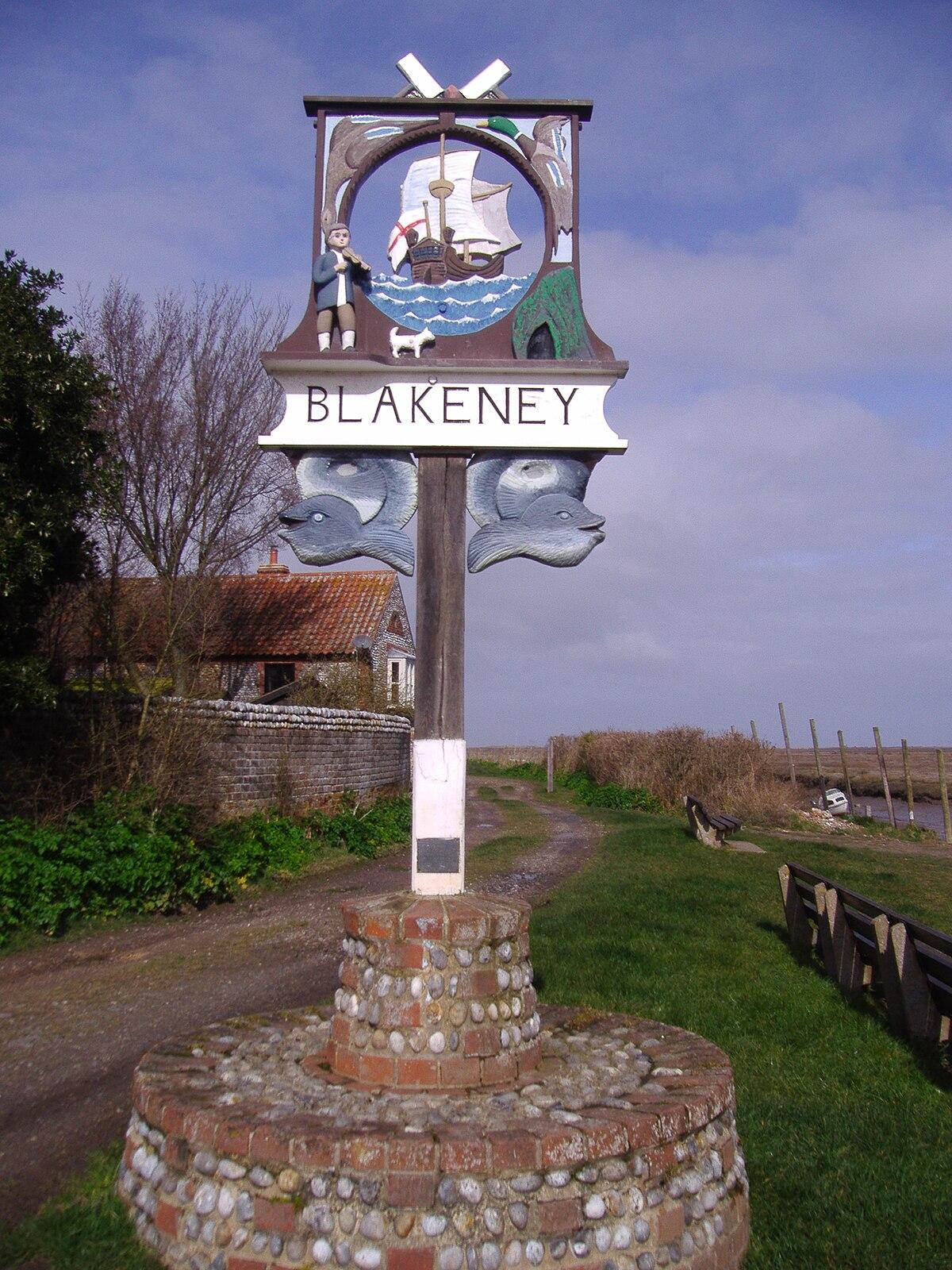 9 Km To Miles >> Blakeney, Norfolk - Wikipedia