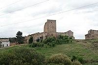 Villares de Sanz, Torre del Monje, desde N-III.jpg