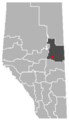 Vilna, Alberta Location.png