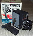 Vintage Mansfield Holiday Meter Matic 8mm Turret Movie Camera With Built-In Exposure Meter, Made In Japan, Circa 1960 (13316407745).jpg