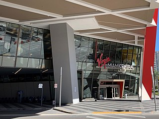 Virgin Trains USA station