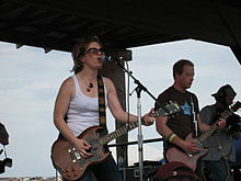 Visqueen performing at the 2007 Sasquatch Festival
