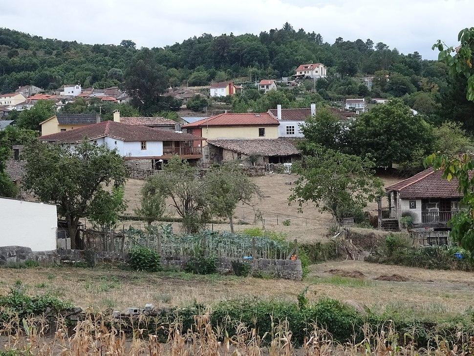 Vista O Pereiro de Aguiar, Ourense