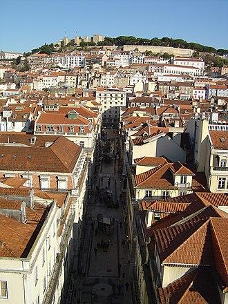 Annemarie Schwarzenbach - Image: Vista do Miradouro de Sta. Justa Lisboa (Portugal)