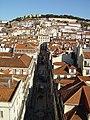 Vista do Miradouro de Sta. Justa - Lisboa (Portugal).jpg