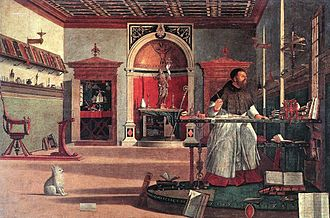 Vittore Carpaccio - St. Augustine in His Study (Carpaccio)