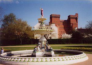 Saracen Foundry - Victoria memorial water fountain, Vivary Park, Taunton, Somerset.