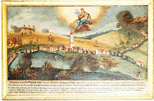 Battle of Biberach (1800) - The Battle of Messkirch was won from the high ground.