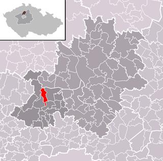 Všestudy (Mělník District) Municipality and village in Central Bohemian Region, Czech Republic