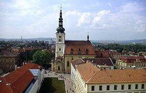 Vyškov - Image: Vyskov Kirche