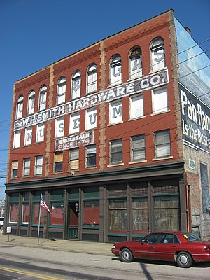 W.H. Smith Hardware Company Building - Front of the building