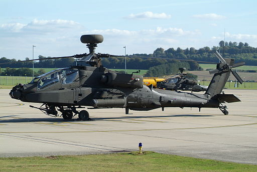 WAH-64D at Middle Wallop