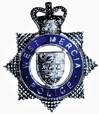 West Mercia Police - Image: WMP Cap