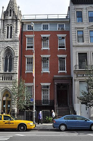 Isaac Hopper - The Isaac T. Hopper Home of the Women's Prison Association in the East Village of Manhattan, New York City