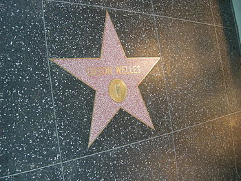 Walk of fame%2C orson welles