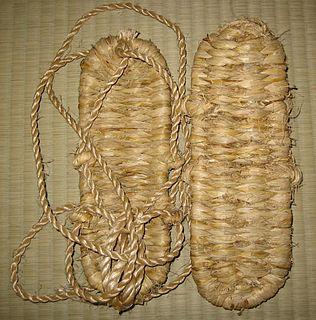 <i>Waraji</i> Japanese sandals