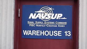 Cheatham Annex - Door to Warehouse 13