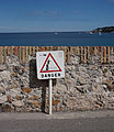 Warning sign in Antibes.jpg
