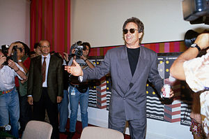 Warren Beatty - Beatty at the 47th Venice Film Festival