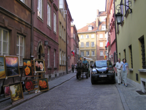 Piwna street in the Old Town