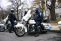 Washington D.C. police on Harley Davidson police cruisers with sidecars 1.jpg
