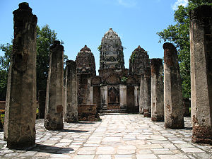 Sukhothai Kingdom - Wat Si Sawai, Sukhothai Historical Park