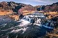 Waterfalls In Gjain Iceland Travel Photography (211378933).jpeg