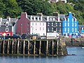 Waterfront buildings and jetty, Tobermory - geograph.org.uk - 1708267.jpg