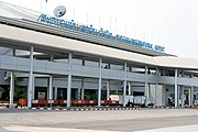 Wattay International Airport in Vientiane.