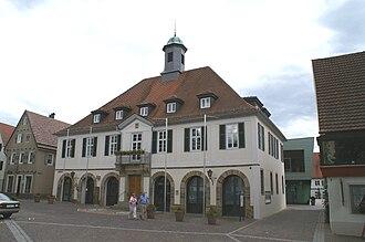 Weilheim an der Teck - Weilheim, Old Town Hall